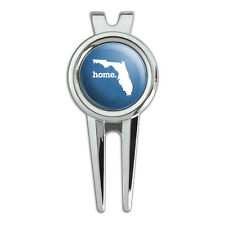 Florida FL Home State Golf Divot Repair Tool and Ball Marker