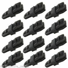 12 pack Awning Clamp Set Tarp Clips Snap Hangers Tent Camping Survival Emergency