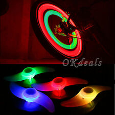 New Multi-Color Bike Bicycle Cycling Wheel Tire Tyre LED Spoke Safety Light Lamp
