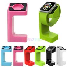 Fashion For Apple Watch iWatch 38mm 42mm 2in1 Stand Holder Docking Station