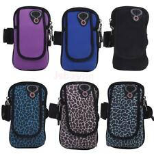 Neoprene Running Jogging Sport Gym Key Cell Phone Wrist Arm Band Bag Wallet Case