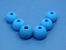 3 pairs Blue Replacement Earbud Tips For Monster Beats iBeats Tour Earphones