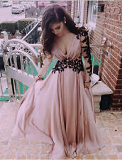 Sexy Women's Long Lace Summer Beach Evening Cocktail Party Prom Boho Maxi Dress