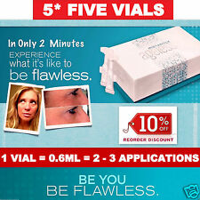 5 VIALS ✪ Jeunesse INSTANTLY AGELESS Anti Ageing Face Cream ✪ Flawless in 2min