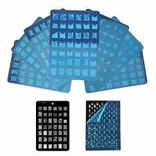 Nail Art Image Stamp Stamping Plate Manicure Polish Template Plates CK Series