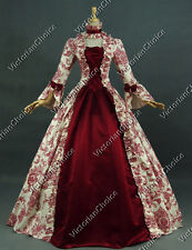 Georgian Victorian Gothic Period Dress Wedding Gown Reenactment Clothing 138