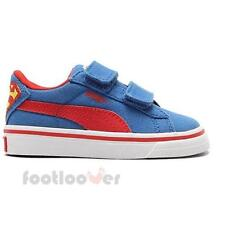 Shoes Puma S Vulc CVS Superman V Kids 358580 01 sneakers canvas casual moda Blue
