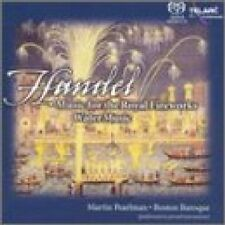 NEW Handel: Music for the Royal Fireworks; Water Music (Audio CD)
