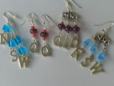 Rugby league, NSW V Qld,Blues V Maroons Origin football fan earrings