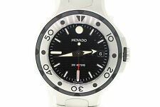 Men's Movado 2600001 Series 800 Performance Stainless Steel Black Dial Watch