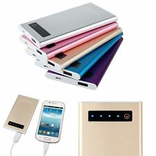10000mAh Esterno Caricabatteria Power Bank Per Cellulare Smartphone Tablet Tab