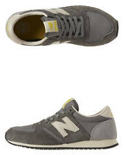 New New Balance Women's - U420 D Trainers Suede Womens Shoes Grey