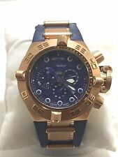 Men's Invicta 11799 Blue Polyurethane Subaqua Noma IV Chronograph Dial Watch