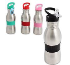 WATER BOTTLE 500ml STAINLESS STEEL WITH SIPPER Easy Grip