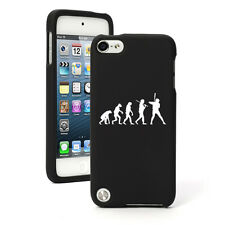 For Apple iPod Touch 4th 5th 6th Rubber Hard Case Cover Evolution Baseball