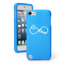 For Apple iPod Touch 4th 5th 6th Rubber Hard Case Cover Infinity Love Soccer