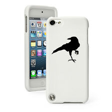 For Apple iPod Touch 4th 5th 6th Rubber Hard Case Cover Crow Raven Blackbird