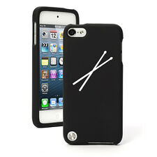 For Apple iPod Touch 4th 5th 6th Rubber Hard Case Cover Drum Sticks