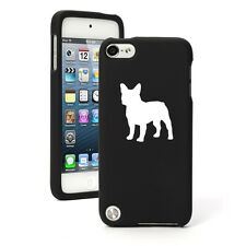 For Apple iPod Touch 4th 5th 6th Rubber Hard Case Cover French Bulldog