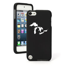 For Apple iPod Touch 4th 5th 6th Rubber Hard Case Cover Great Lakes Michigan