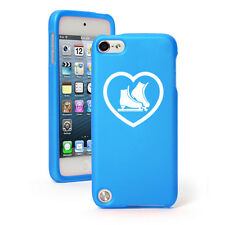 For Apple iPod Touch 4th 5th 6th Rubber Hard Case Cover Heart Ice Skates