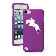 For Apple iPod Touch 4th 5th 6th Rubber Hard Case Cover Horse with Rider