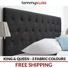 KING & QUEEN Fabric Upholstered Bed Head Headboard for Bed Frame, Bedhead