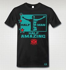 """HALF MAN HALF AMAZING"" Stars T-SHIRT to Match Air Foamposite One ""GONE FISHING"""
