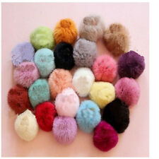 1PX Imitate Rabbit Fur Hair Band Elastic Hair Bobble Pony Tail Holder