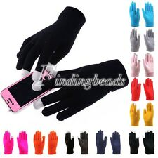 Magic Touch Screen Phone Smartphone Tablet Full Finger Warm Mittens Gloves