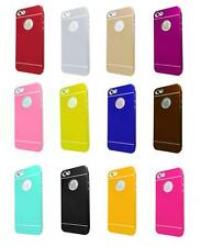 Brushed thin Frame Metal Skin Aluminum Hard Back Cover Case For iPhone 4 4s