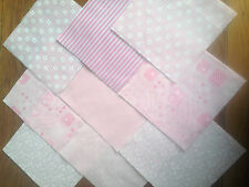 """30 xbaby GIRL ABC 5 """"Pollici in Tessuto Patchwork Piazze Pezzi Fascino Imballare"""
