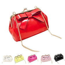 Candy Color Mini Purse Small Shoulder Bags Chain Bag Women Messenger Bags Clutch