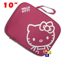 "HELLO KITTY 10"" 10.2"" LAPTOP NOTEBOOK TABLET PROTECTIVE SLEEVE POUCH BAG CASE"
