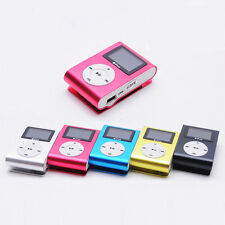 Mini MP3 Player Clip USB LCD Screen Support 32GB Micro SD SD TF Card Hot Sell