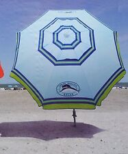 TOMMY Bahama 7' Beach Umbrella Wth with Tilt and Telescoping Pole