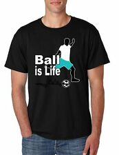 Soccer Ball Is Life Men's Tee Shirt Soccer Shirt Sport Shirt Cool Tee