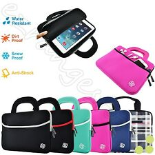 "Slim 10"" Inch Sleeve Carrying Case Cover Bag Handle for 10"" - 10.1"" Inch Tablet"