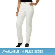 Gloria Vanderbilt Ladies' Amanda Stretch Denim Jeans – WHITE (Select Size)
