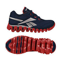 Reebok Shoes Zig Tech Zigenergy J21792 gs Big Kids Junior Running Blue Size 5