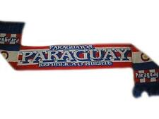 Paraguay Football Scarf Soccer Country Supporters Winter Scarf New