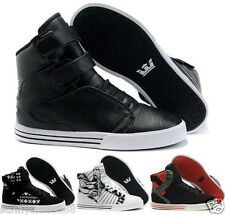 NEW! HOT! supra high shoes skateboard shoes men hip-hop fashion shoes