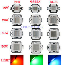 1/ 5 x Red Green Blue LED Lamp light 10W 20W 30W 50W Watt  bright bulb Chip DIY