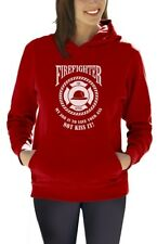 FIREFIGHTER - My Job is To Save Your Ass NOT Kiss It Women Hoodie Firefighters