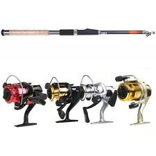 High Quality 3BB SE200 5.2:1 Fishing Spinning Reel /2.1M Telescopic Rod DT 00JP