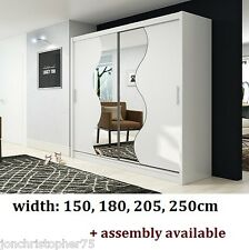 Modern Quality Wardrobe sliding door Luxury bedroom furniture New Design Capri 6