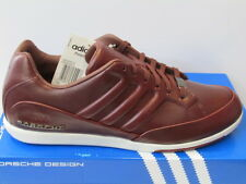 Taglia UK 7-Adidas Originals Porsche Design 356 MENS LEATHER sneakers maroon