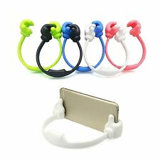 Universal Thumb Style Desk Mount Stand Holder For Smart Phone iPhone Tablet