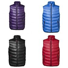ID Mens Quilted Full Zip Casual Padded Gilet/Vest Jacket/Bodywarmer