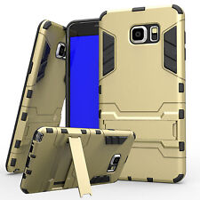 Hybrid Shockproof Heavy Duty Kickstand Hard Case Cover For SAMSUNG GALAXY Note 5
